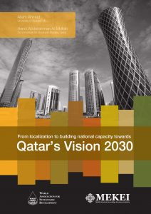 Qatar's Vision 2030: from localization to national building capacity