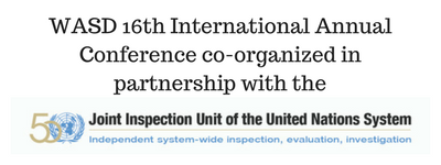 WASD 16th International Annual Conference co-organized in partnership with the (1)