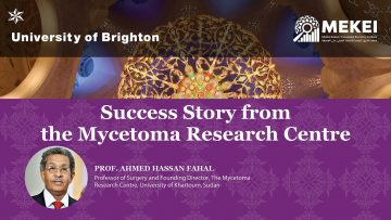 Success Story from the Mycetoma Research Centre